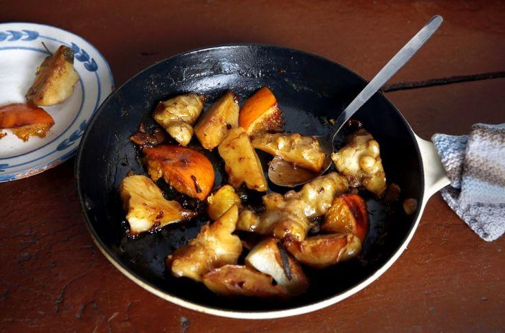 Smørstekte jordskokker med salvie og appelsin er virkelig verdt å prøve.