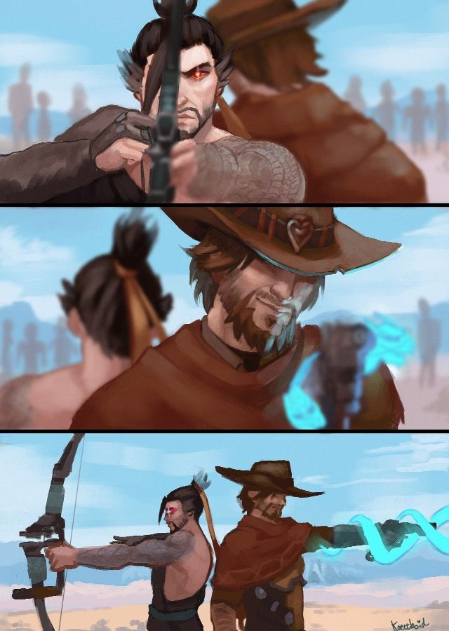 Hanzo and McCree | Ult switch