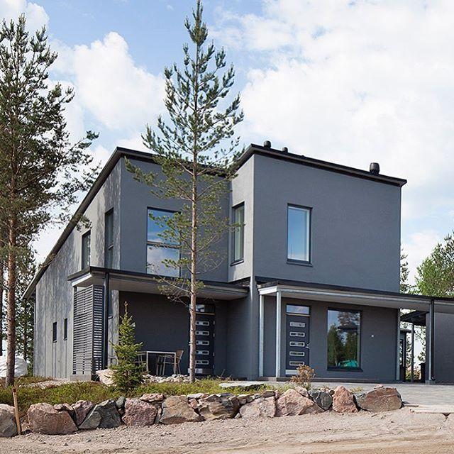 Aktiivisen perheen koti, Lammi-Kivitalo Validus Motus on suunniteltu urheilulliselle perheelle ja kestää elämää. #lammikivitalo #asuntomessut #rakentaminen #asuminen #koti #liikkuvaperhe #kivitalo