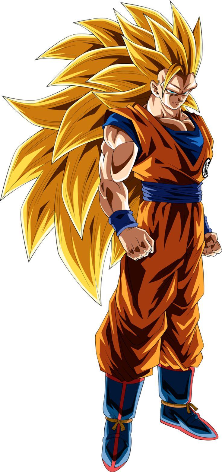 Super Saiyan 3 Goku Goku Super Saiyan Blue Goku Super Saiyan Goku Super