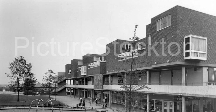 Brus House, Thornaby Town Centre c1960