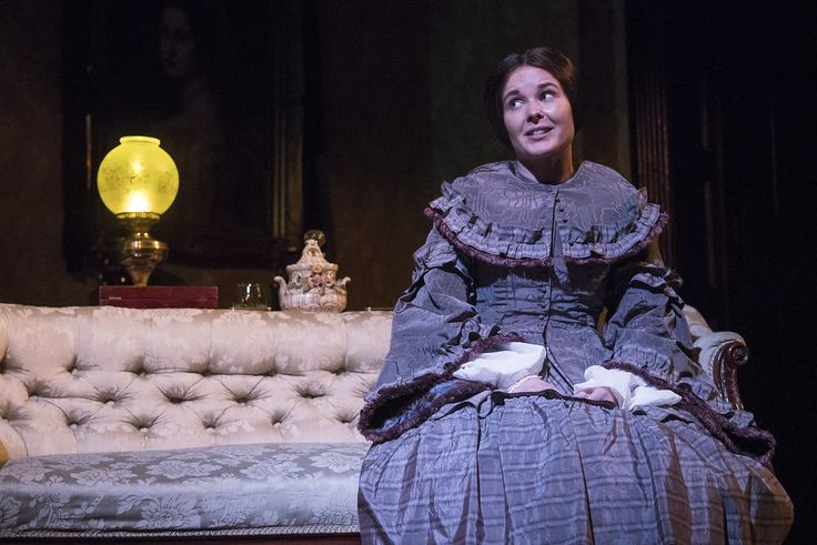 Karen McCartney in The Heiress by Ruth and Augustus Goetz, based on the novel Washington Square by Henry James. Picture by Pat Redmond