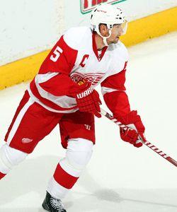 Detroit Red Wings! Nicklas Lidstrom!