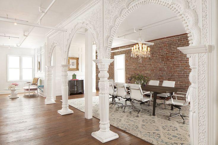Fashionable office design for Grow Marketing by designer Josef Medellin