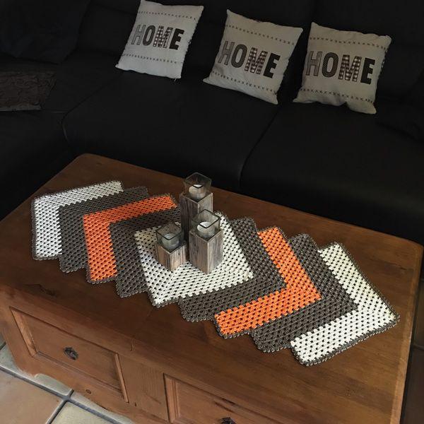 1000 ideen zu tischl ufer h keln auf pinterest deckchen. Black Bedroom Furniture Sets. Home Design Ideas