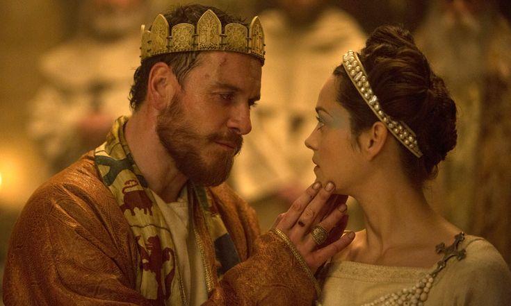 Michael Fassbinder (Macbeth) and Marion Cotillard (Lady Macbeth) in Macbeth, 2015..  Macbeth director Justin Kurzel: 'You're getting close to evil'