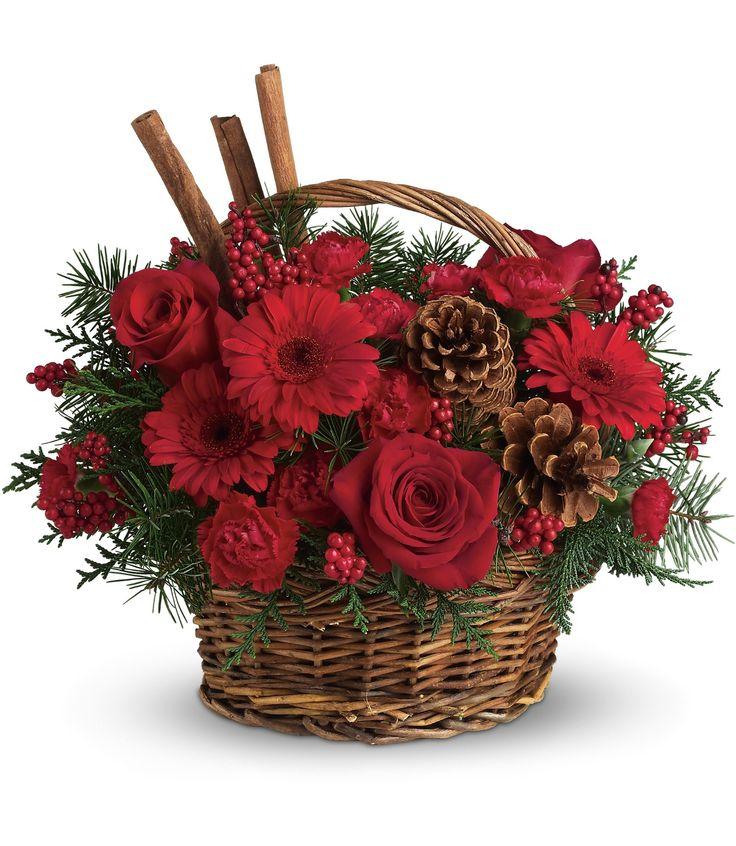 #Mancusos.com  I have plenty of baskets and greenery to do this