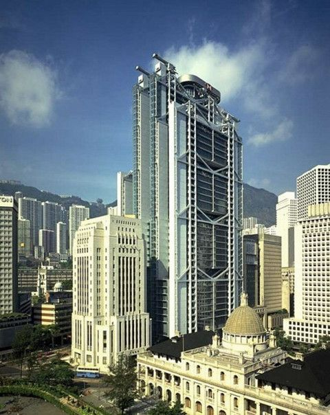 Главный офис банка в Гонконге