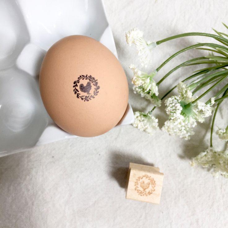 The Original Pretty Chicken Fresh Egg Stamp #BackyardChickens