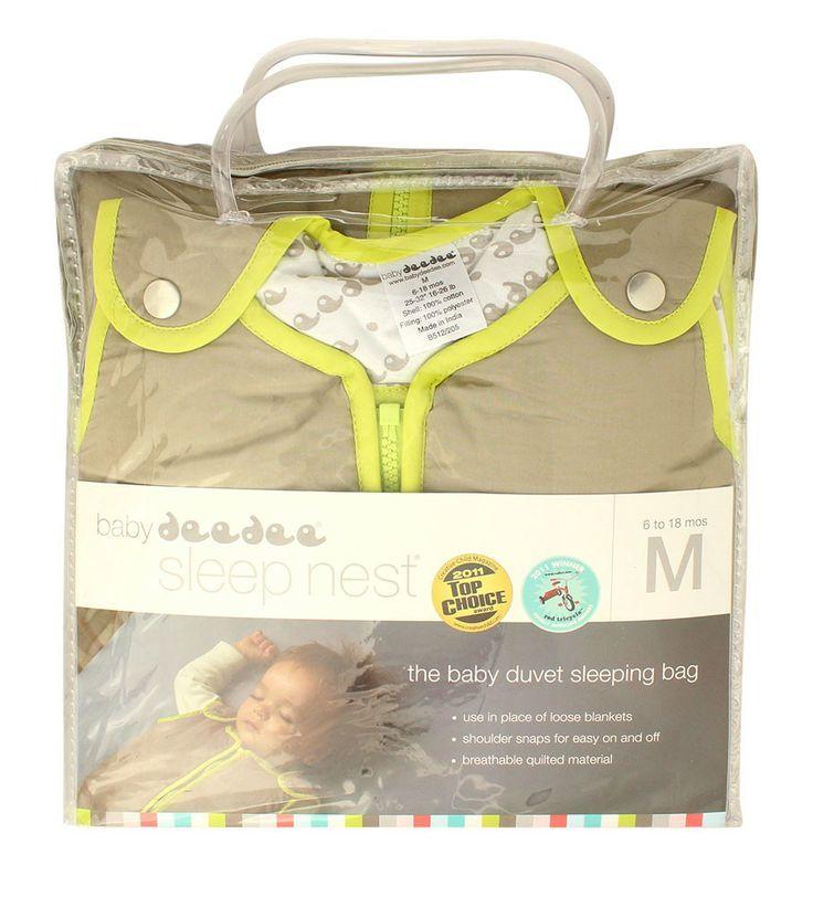 ¡Mantén a tu bebé calientico y cómodo durante toda la noche con los sacos para dormir de Babydedee! Descubre SLEEPNEST de Babydeedee. Estas mantas portátiles están hechas de 100% algodón y tienen un forro de jersey y algodón suave. Cálido y acogedor,  reconfortantes y se convertirán rápidamente en parte de la rutina de la hora de dormir de tu bebé. Talla M  6 - 18 Meses Price 116.900