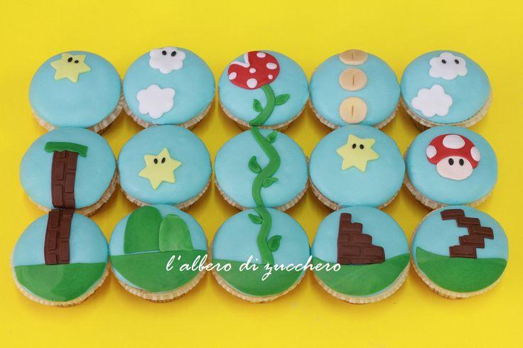 Super Mario Bros cupcakes