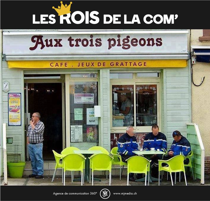 Les Rois de la Com'. #marketing #communication #CM #LesRoisdelaCom #humour