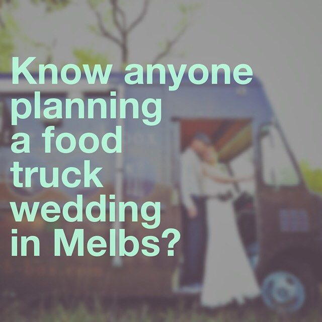 We thought you might!  Tag them in the comments.  As part of our crowdfunding campaign to give our vintage ice cream truck, Grace a makeover we'll be offering #RealWedding bookings at a 1/3 off our post launch rate. _