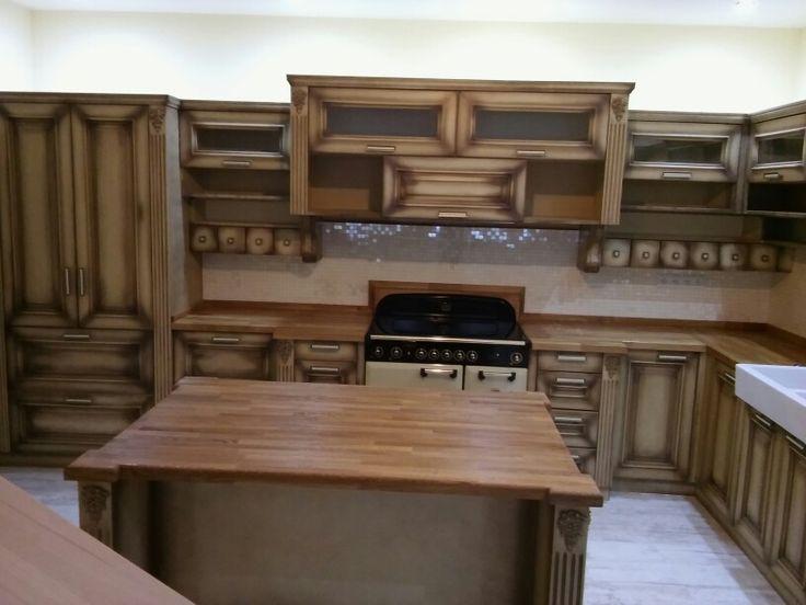 Kuchyna patina mdf