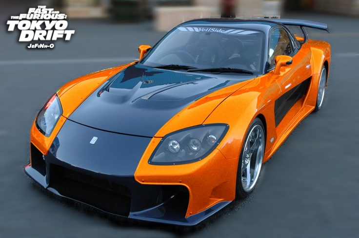mazda rx7 fast and furious. veilside mazda rx7 from the fast and furious tokyo drift movietelevision famous rides pinterest rx7 and cars fast furious