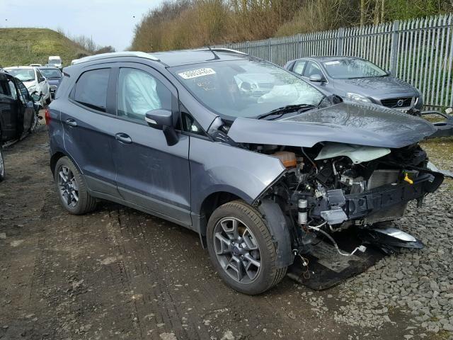 Ebay 2017 Ford Ecosport Titanium Salvage Spares Or Repairs 1 5