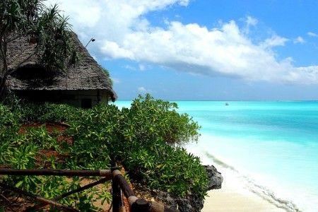 Strand auf Sansibar, Afrika