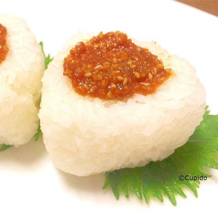 Sesame-Miso Onigiri (Rice Ball) _©Cupido