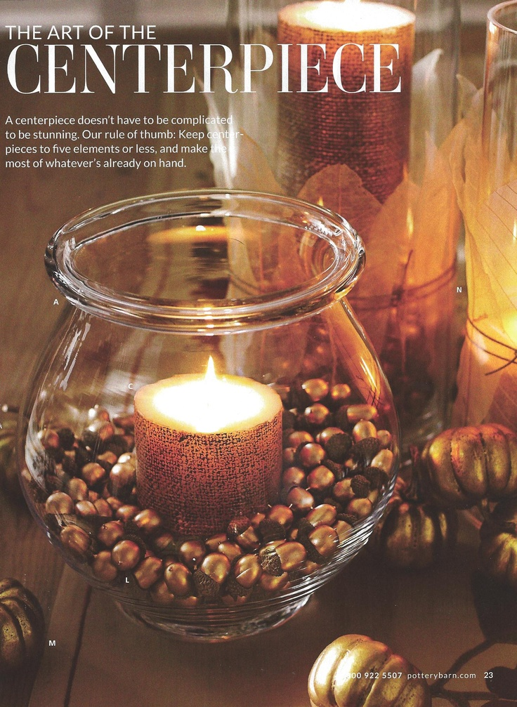 Best images about acorn centerpieces on pinterest