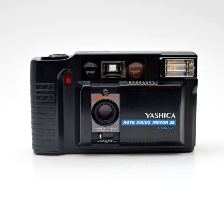 Yashica Auto Focus Motor II Quartz 35mm Film Point and Shoot Camera by vtgwoo on Etsy