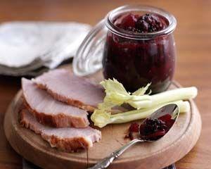Blackberry and apple chutney recipe