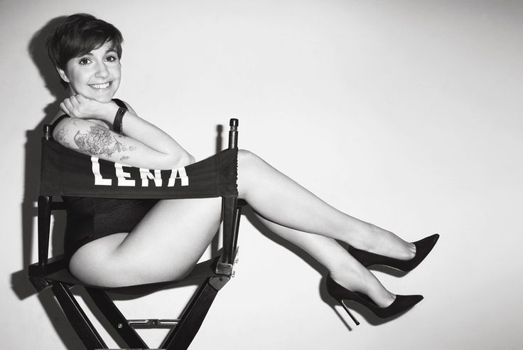 Lena Dunham #girls by Terry Richardson