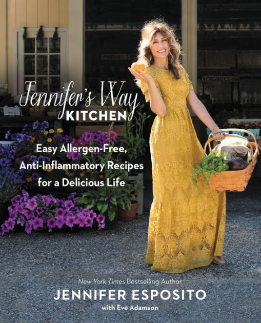 Jennifer Esposito, actress and owner of the beloved New York City-based Jennifer's Way Bakery, shares 100+ delicious, anti-inflammatory, allergen-free recipes...