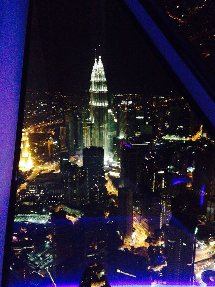 A view from KL tower