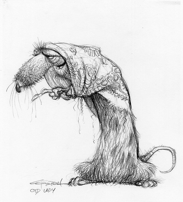 Carter Goodrich - Ratatouille (2007) - Concept Art