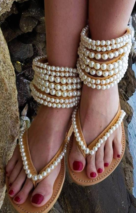 Excited to share the latest addition to my #etsy shop: DHL FREE gladiators ,Greek sandals,Bohemian sandals,women's shoes,pearl sandals,leather sandals,summer shoes,strappy sandals,pearls,boho #shoes #women #greeksandals #pearlsandals #weddingsandals #bridal #bohosandals #bohowedding #shoes #fashionsandals #ss18 http://etsy.me/2DjrlVE
