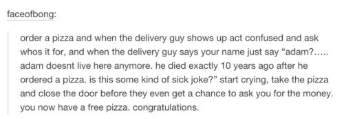 Next time you order pizza