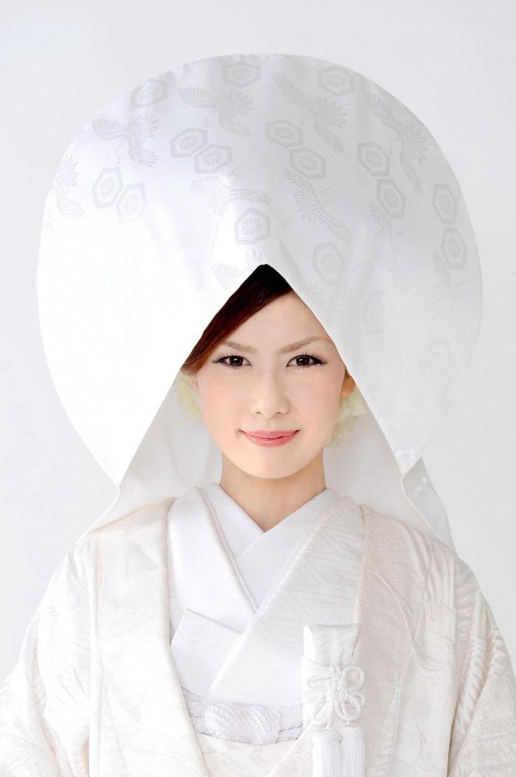 白無垢 洋髪綿帽子