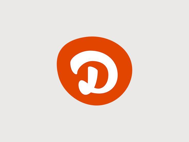 """""""D"""" Blot logo by Derryl Carter"""