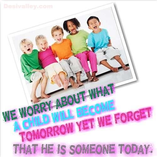Childrens day nice quote