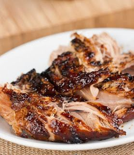best healthy recipes in the world: Crockpot Brown Sugar Balsamic Glazed Pork Tenderloin