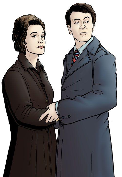 Barbara Wright and Ian Chesterton by Paul Hanley
