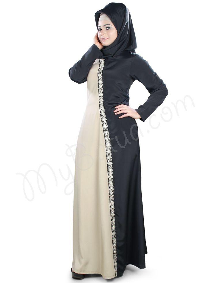 Gorgeous Embroidered Party Wear Mahibah Abaya | MyBatua.com Style No : AY-399 Price : $38.00 Available Sizes XS to 7XL