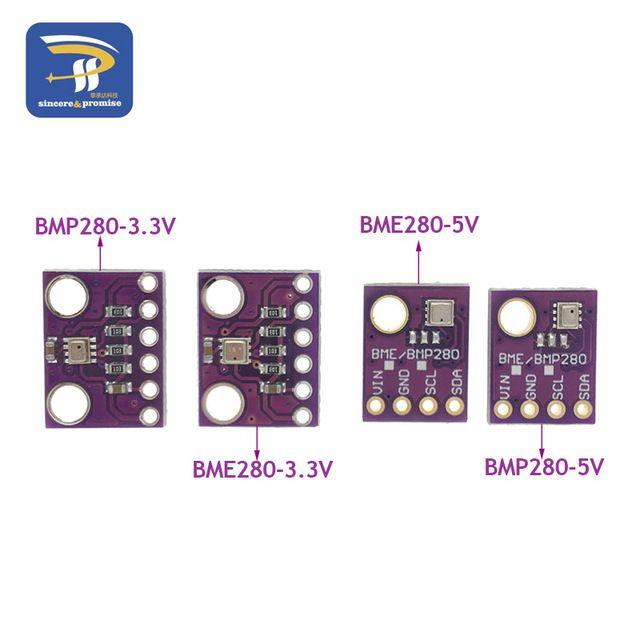 SPI BMP280 3.3 Digital Barometric Pressure Altitude Sensor Atmospheric Mod I2C