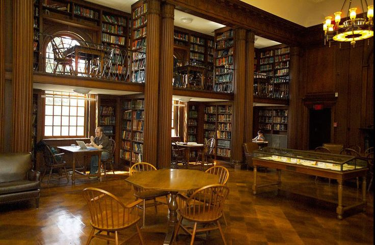 Taking it personal. The Quiet Area. | Day Missions Library at Yale Divinity School, New Haven, Connecticut