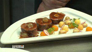 Recette du magret de canard au foie gras du Chef Etchebest