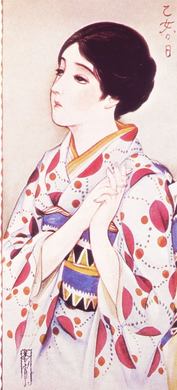 乙女の日, Kasho Takabatake (1888-1966)