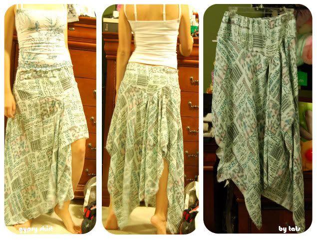TUTE: Gypsy Skirt (and a Hawaiian pleated skirt) - CLOTHING