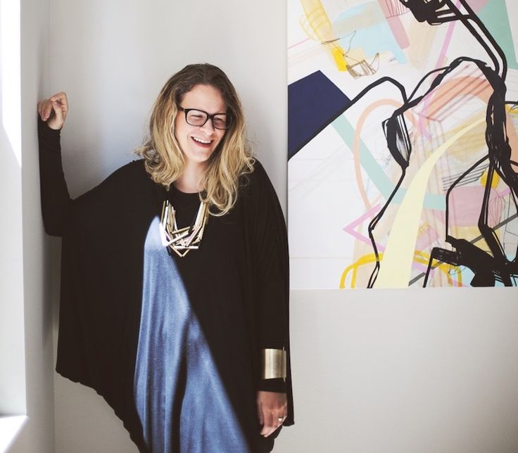 An authority on all things design and blog related, Design Milk's editor and founder @jaimederringer talks about inspiration, painting and how creativity can come in all forms. And in her role as this week's Guest Curator, she assembles an Artfetch collection to tickle the architect in you.