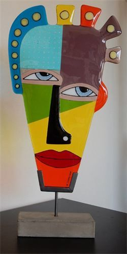 Yvonne Veen, Glinsterend glas, - Fusen