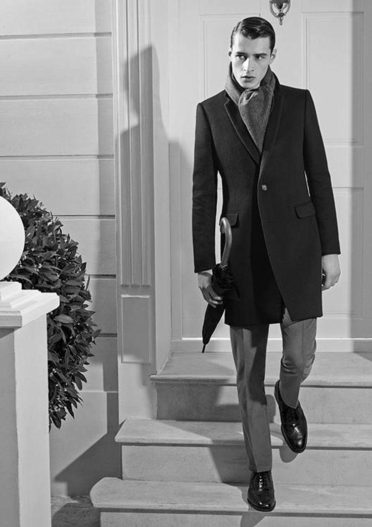 Adrien Sahores by Karim Sadli for De Fursac Fall Winter 2014-2015