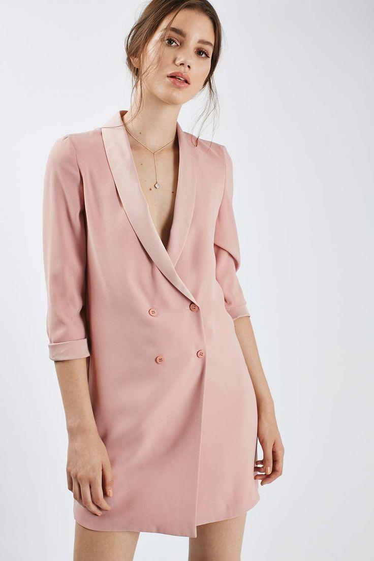 Soft Tailored Blazer Dress - Jackets & Coats - Clothing - Topshop USA