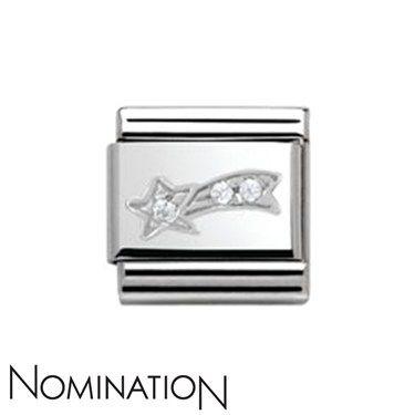 Nomination SilverShine Shooting Star Charm   Argento.co.uk