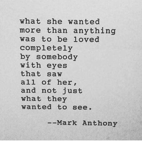 More than anything........ poem by Mark Anthony