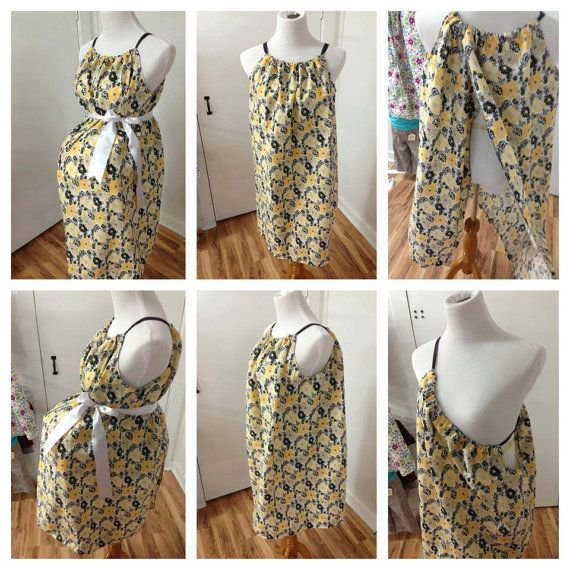 INSTANT PDF Maternity Hospital Gown Sewing by BabyBandMommy