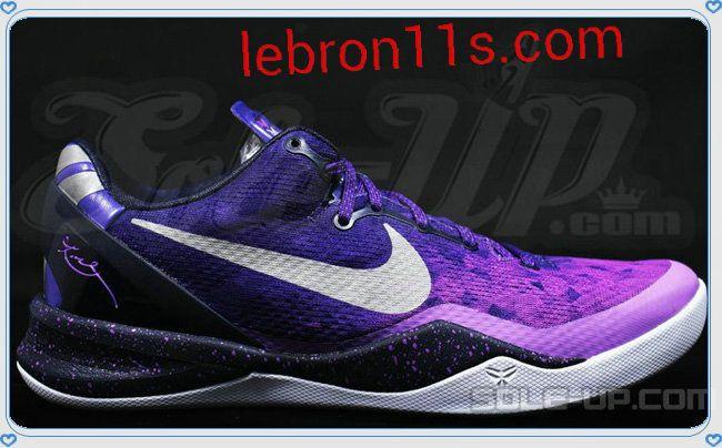 Lowest Price Nike Kobe 8 Cheap sale System Tiger Midsole Purple